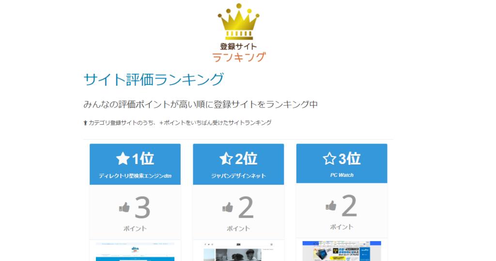 dtn.jpのランキング上位3サイトだけにサムネイル画像を表示してみた