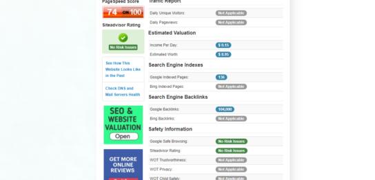 複製するサイトCuteStat.comのサイトイメージ